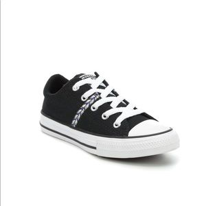 NEW! Girls Converse All Star Madison Ox Sneakers
